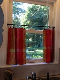 Tension Rod Curtains An Extra Touch To Homemade Fabric Curtians Nursery Ideas