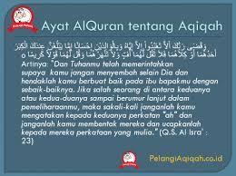 Janin Dibacakan Al Quran Ayat Alquran Tentang Aqiqah Surah Surat Yang Dibaca Saat Akikah
