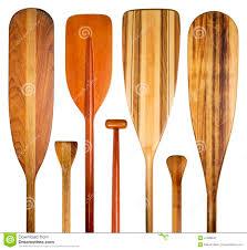 Decorative Canoe Paddles Wood Canoe Paddles Abstract Stock Image Image 41098647