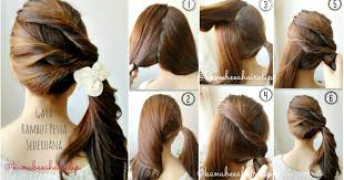 tutorial rambut kanubeea hair clip gaya rambut pesta sederhana