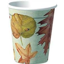 thanksgiving decorations autumn theme cold cups 8 count