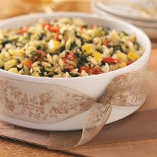 savory halloween appetizers savory mediterranean orzo recipe taste of home