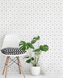 Peel And Stick Wallpaper Reviews by Geometric Cube Wallpaper Peel And Stick