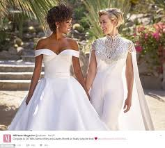 orange is the new black star u0027s wedding sends twitter wild daily