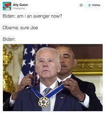 Joe Biden Memes - am i an avenger now joe biden know your meme