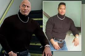 Dwayne Johnson Car Meme - the rock recreates hilarious throw back snap from 1990s complete