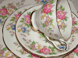 vintage china patterns a very pretty vintage floral tea set kent vintage china hire