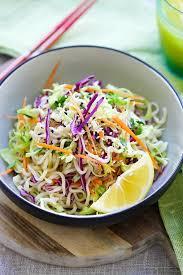 noodle salad recipes ramen noodle salad recipe rasa malaysia