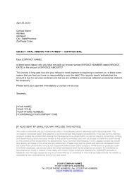 late payment letter template u0026 sample form biztree com