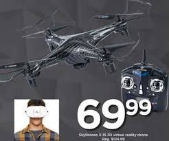 drone black friday deals kohl u0027s x 15 3d virtual reality drone by sky drones 69 99 reg