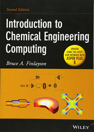 buy introduction to chemical engineering computing book online at
