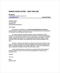 manager retail cover letter