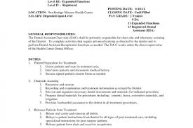 Rda Resume Examples by Sample Resume For Dental Application Archives Resume