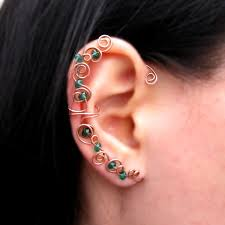 top earing earring for top ear beautify themselves with earrings
