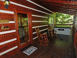 2 bedroom log cabin wooded location chalet village tennessee