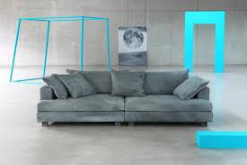 canapé droit 4 places canapé droit cloud atlas cuir 3 places l 220 cm cuir bleu vert