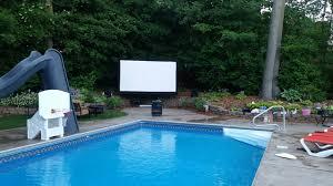 Backyard Series Yard Master Series Outdoor Projector Screens Elite Screens
