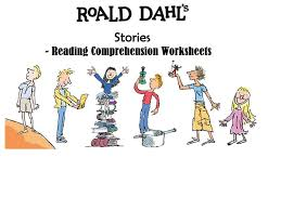 roald dahl u0027s stories and books reading comprehension bundle by