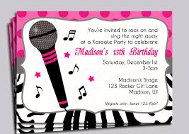 pink zebra invitation printable or printed with free