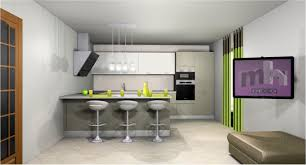 cuisine et salon ouvert idée cuisine ouverte sur salon collection et idee amenagement