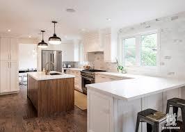 flat white wood kitchen cabinets white shaker style kitchen w flat panel walnut island