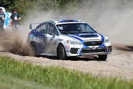 subaru rally racing subaru rally team canada claims victory in tough 2017 rallye défi