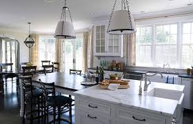 Kitchen Island As Dining Table Kitchen Island Dining Table Transitional Kitchen Alisberg