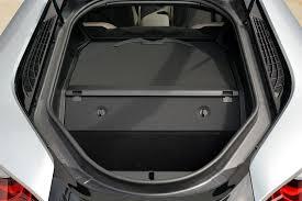 bmw i8 luggage 2014 bmw i8 review automobile magazine