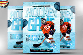 hockey templates for photoshop 15 sports flyer designs free editable psd ai vector eps format