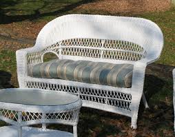 Wicker Loveseat Patio Furniture - outdoor wicker loveseat cape cod