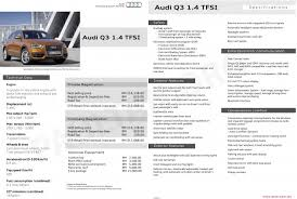 price q3 audi audi q3 1 4 tfsi price specs appear on website rm216 888