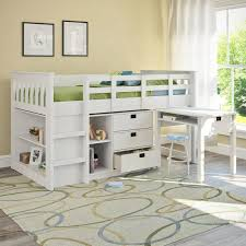 Bunk Bed With Study Table Loft Bed Children Bunk Bed Loft Beds Study Table Beside The