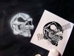 airbrush skull stencils blog title