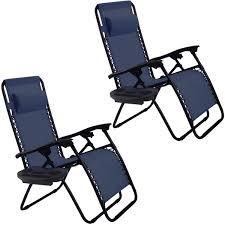Recliner Patio Chair Amazon Com Goplus Zero Gravity Chairs Lounge Patio Folding