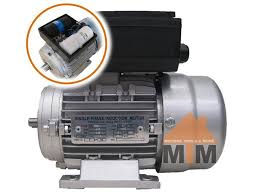 single phase electric motor 240v 0 75kw 1hp 2800rpm with pulley