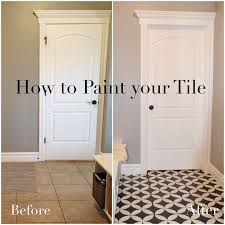 How To Do Tile Backsplash by How To Paint Your Tile Remingtonavenue Blogspot Com Projects Diy