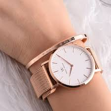 mens bracelet wrist watches images Engraved bracelets wholesale ladies wrist watch match gold bangles jpg