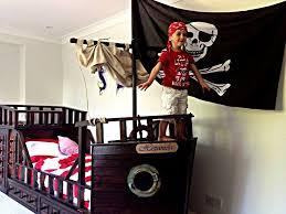 Pirate Ship Bunk Bed Wonderful Pirate Ship Toddler Bed Paint Mygreenatl Bunk Beds
