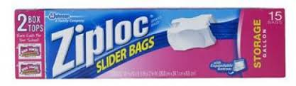 ziploc slider bags all purpose storage quart 20 bags 3 79