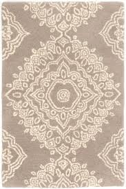 What Is A Tufted Rug Lace Medallion Wool Tufted Rug The Outlet