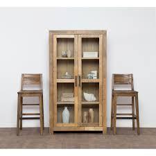 reclaimed wood curio cabinet the gray barn fairview reclaimed wood curio cabinet free shipping