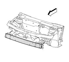 repair instructions front bumper impact bar replacement 2011
