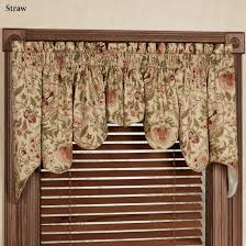 Swag Valances For Windows Designs Top Photo Of Regency Floral Duchess Swag Valance Pair Waverly