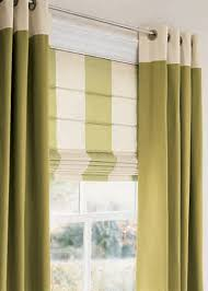 yellow and white zigzag curtain for sliding glass window on the