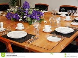 How To Set A Table For Dinner by How To Set A Restaurant Table Home Design Ideas