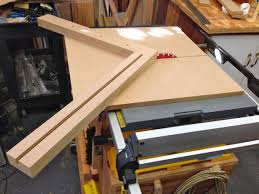 miter cuts on table saw wednesday woodworking the miter sled andrew s view of the week