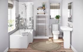 L Shaped Bathroom Suite Choosing Bathroom Tiles Victoriaplum Com
