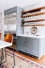Kitchen Cabinets Open Shelving Best 25 Floating Shelves Kitchen Ideas On Pinterest Open