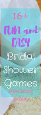 Ideas For Bridal Shower by Fun Non Cheesy And Easy Bridal Shower Games