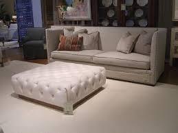 White Leather Ottoman Perfect White Tufted Ottoman 25 White Leather Ottomans Square